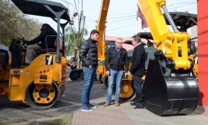 Nueva maquinaria para el municipio de Tigre