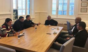 Tigre: Zamora apoyó a trabajadores de Sancor y La Serenísima, afectados por la crisis