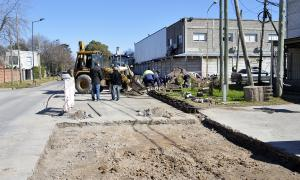 Tigre suma obras en diferentes localidades con inversión municipal