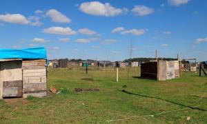 Toma de tierras en la Provincia