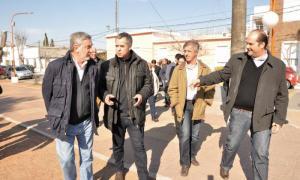 El Ministro Rodríguez se reunió con productores agropecuarios.
