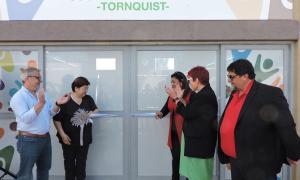 Tornquist: Inauguran una Cooperativa Textil