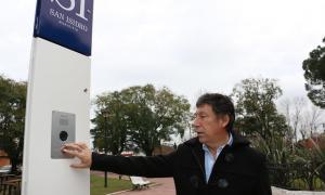 San Isidro instala tótems de seguridad en espacios públicos