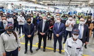 Toyota es otra de las automotrices que retoma la actividad con restricciones
