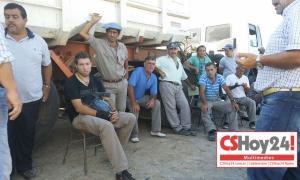 Los trabajadores están de paro. Foto: CShoy24