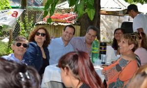 Trezza participó de un plenario de la Agrupación Felipe Vallese.