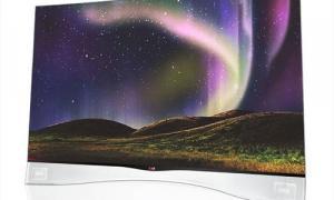 El TV OLED curvo de LG tiene un espesor de 4,3 pulgadas