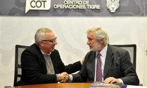 Tigre: Zamora y Conte Grand firmaron convenio y avanzan en cooperación, capacitación y tecnología de la justicia