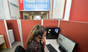 """Más de 100 mil personas fueron atendidas a través del sistema """"Tigre sirve"""" en 2020"""