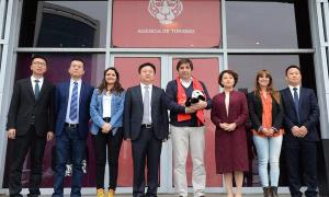 Representantes del país asiático visitaron el municipio.