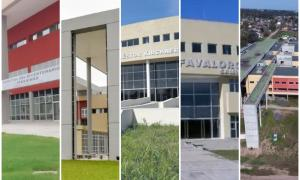 Los hospitales están ubicados en Ituzaingó, Esteban Echeverría, Laferrere, Rafael Castillo y Escobar.