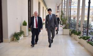 Urtubey y Lifschitz juntos en Rosario con eje en la lucha contra el narcotráfico