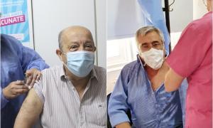 Vacunación mayores de 60: Intendentes sub 70 de Mar Chiquita, General Villegas y Pila también se aplicaron la dosis
