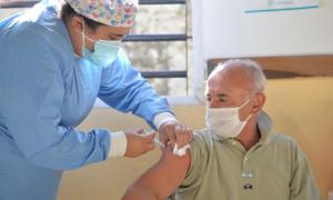 Vacunación Covid en Provincia: Más de un millón de personas mayores de 70 años con la primera dosis