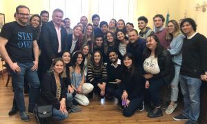Vidal en Bahía Blanca: Anunció boleto estudiantil gratuito para 2020
