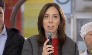 María Eugenia Vidal hizo el anuncio en Vicente López.