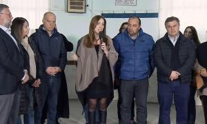 La gobernadora anunció medidas económicas