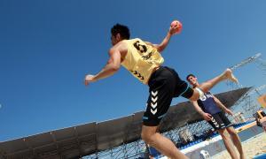 Crece el Beach handball