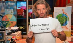 """Facundo Arana es el nuevo embajador del programa """"Vive el Cambio"""" de Sony Argentina"""
