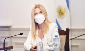 Coronavirus en la política: Magario retoma las actividades tras dos hisopados negativos