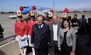 Aerolíneas arrancó sus vuelos de temporada a Mar del Plata