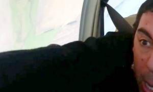 La maniobra en un vuelo del diputado Marcos Di Palma con el exlegislador Quinteros