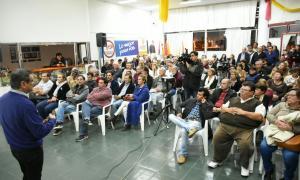 Buil brindó detalles de la situación hídrica en Rivadavia.