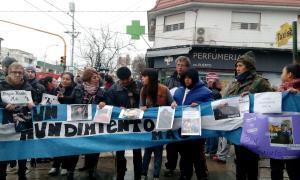 Familiares marcharon en Mar del Plata. Foto: La Noticia 1