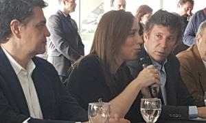 Vidal en el Foro de Intendentes. Foto: La Noticia 1