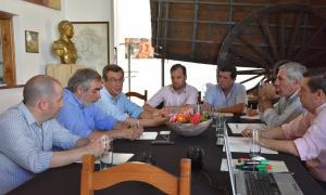 Los dirigentes se reunieron en Trenque Lauquen.