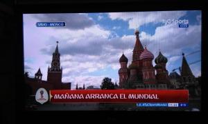 La pantalla para seguir a Argentina. Foto: La Noticia 1.
