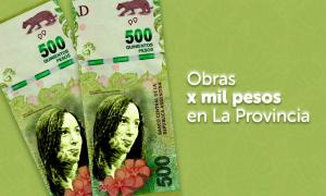 Obras por mil pesos en la Provincia.