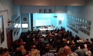 La FEB definió nuevos paros docentes en la Provincia. Foto: Prensa
