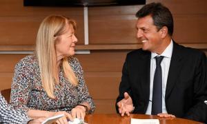 Massa se reunió con Margarita Stolbizer y dirigentes bonaerenses del GEN