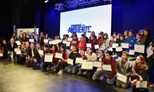 """Ituzaingó: Alumnos de primer año de secundaria protagonizaron su """"Compromiso ambiental"""""""