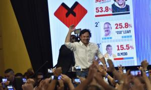 Sáenz ganó las elecciones en Salta con casi el 54% de los sufragios.