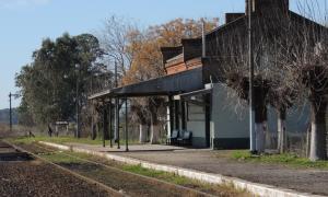 """La vieja estación de """"La Mechita"""""""