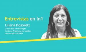 Dosoretz tambén es Psicoterapeuta en Bioenergética con certificación internacional