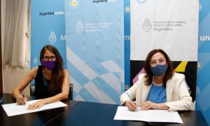 Política de género: Fundación YPF firmó un convenio con el Ministerio de las Mujeres