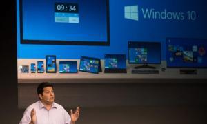 Microsoft presentó esta semana Windows 10.
