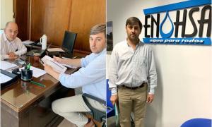 Hipólito Yrigoyen: Cloacas y fondo extra, entre las gestiones y pedidos de Pugnaloni a Nación