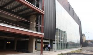 Zárate: Futuro polideportivo que está en construcción se llamará Diego Armando Maradona