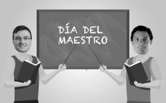 Lucas Ghi y Mauro García, maestros e intendentes.