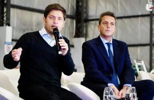 Kicillof y Massa siguen de campaña por el conurbano.