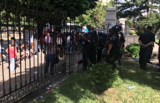 Desde Cicop repudiaron los incidentes en La Plata.