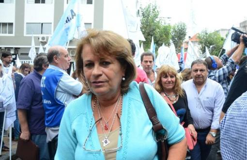 Mirta Petrocini cuestionó duramente al Gobierno bonaerense. Foto: Realpolitik
