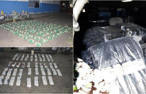 Almirante Brown: Detienena conductor con más de 200 kilos de hojas de coca en el auto