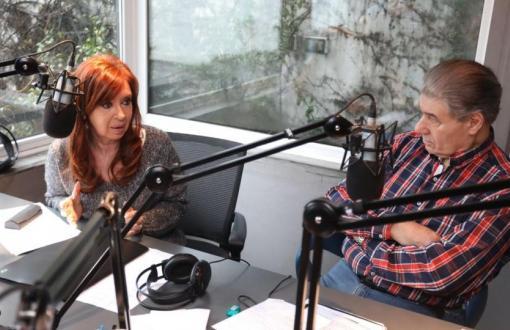 Cristina se solidarizó con Víctor Hugo Morales y D'Elía se quejó. (Imagen de archivo)