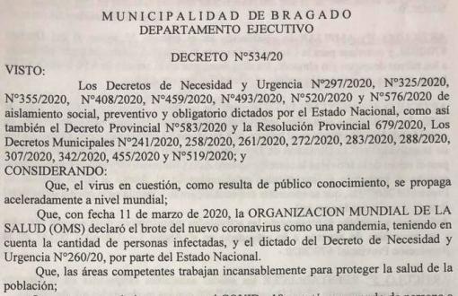 Decreto municipal.