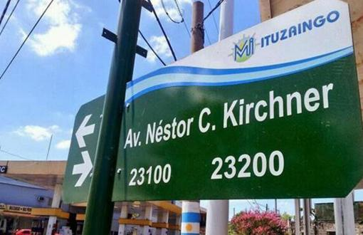 La avenida se llama Néstor Kirchner desde 2010.